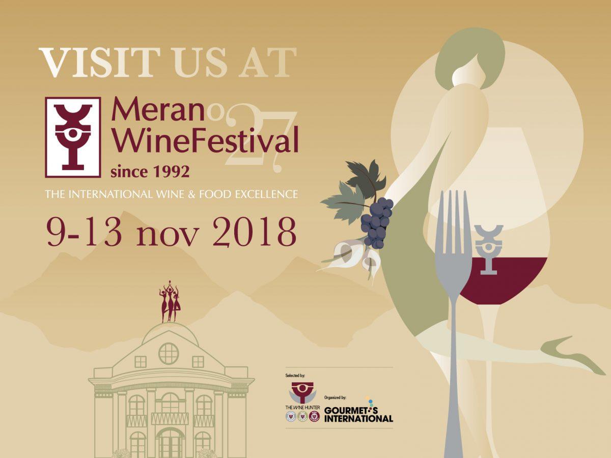 Calonga al Merano WineFestival 2018